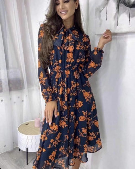 Γυναικείο φόρεμα με φιόγκο 21799