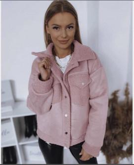 Γυναικείο ημίπαλτο 3934 ροζ