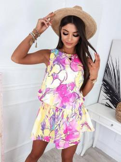 Γυναικείο φόρεμα με print 833109