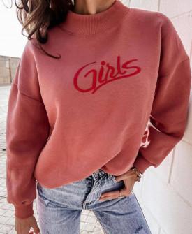 Γυναικεία μπλούζα λουπέτο 4436 κοραλί
