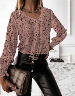 Γυναικεία μπλούζα με πριντ  430303