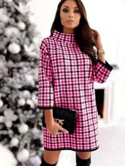 Χαλαρό φόρεμα με print 272103