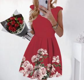 Γυναικείο φόρεμα 2699 κόκκινο