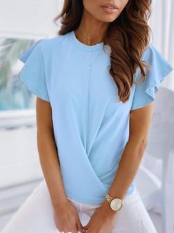 Γυναικεία εντυπωσιακή μπλούζα 2200 γαλάζια