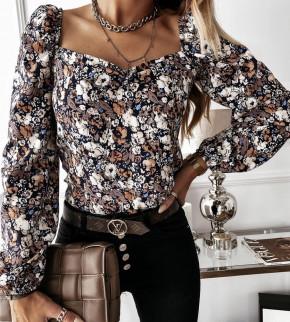 Γυναικεία μπλούζα με print 262002