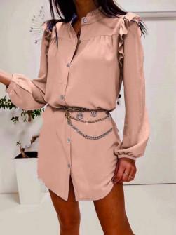 Γυναικεία πουκαμίσα 3458 ροζ