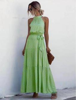 Γυναικείο μακρύ φόρεμα 625702
