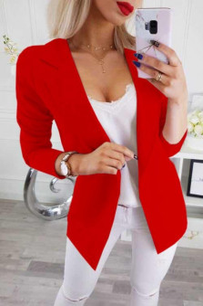 Γυναικείο σακάκι 2692 κόκκινο