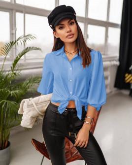 Γυναικείο πουκάμισο 5491 γαλάζιο