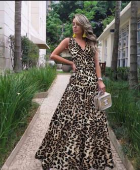 Γυναικείο μακρύ φόρεμα 506901