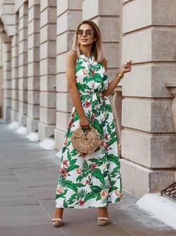 Γυναικείο φόρεμα με σχέδια 567804