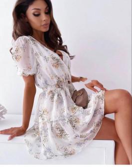 Γυναικείο φόρμα με φλοράλ ντεσέν 369003