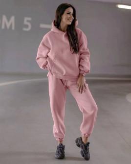 Γυναικείο σετ με εσωτερική επένδυση 15235 ροζ