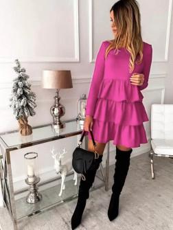 Γυναικείο φόρεμα 3952 φούξια