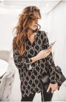 Γυναικείο πουκάμισο 3224 μαύρο