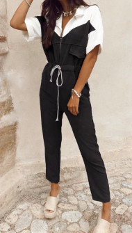 Γυναικεία ολόσωμη φόρμα 1964 μαύρη