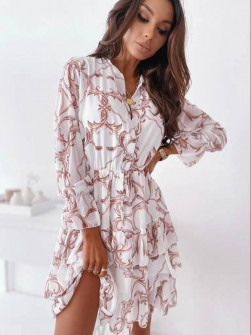 Γυναικείο φόρεμα με print 5590605