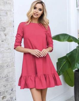 Γυναικείο φόρεμα 3997 φούξια