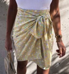 Γυναικεία φούστα με φιόγκο 2123603