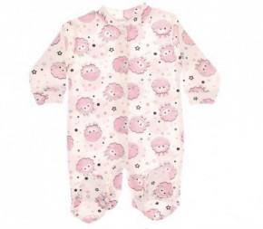 Βρεφική ολόσωμη φόρμα προβατάκι 5050120 ροζ