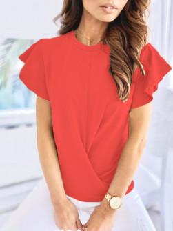 Γυναικεία εντυπωσιακή μπλούζα 2200 κοραλί