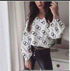 Γυναικεία μπλούζα 395708 άσπρη