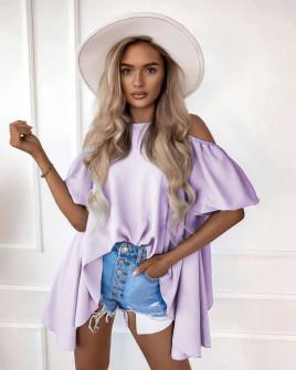 Γυναικεία μπλούζα 8213 λιλά