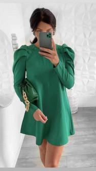 Γυναικείο χαλαρό φόρεμα 5476 πράσινο