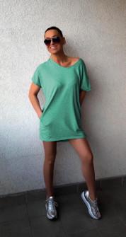 Дамска туника 13370 зелена