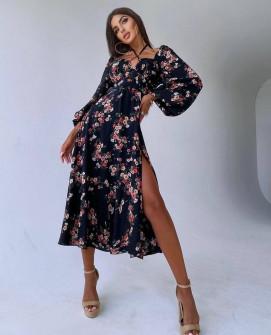 Γυναικείο μιντι φόρεμα 5588801