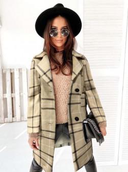 Γυναικείο παλτό 7090 μπεζ