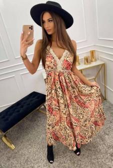 Γυναικείο φόρεμα φλοράλ 555703