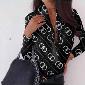 Γυναικεία μπλούζα κρουαζέ 502006 μαύρο