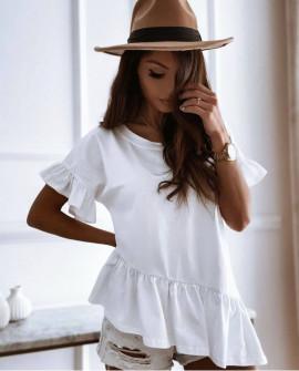Γυναικείο εντυπωσιακή μπλούζα 00823 άσπρη