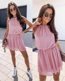 Γυναικείο φόρεμα 5125 ροζ