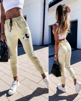 Γυναικείο παντελόνι φόρμα 2457 κίτρινο