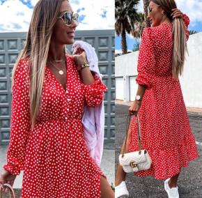 Γυναικείο εντυπωσιακό φόρεμα 246001