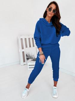 Γυναικείο σετ βελουτέ 10210 μπλε