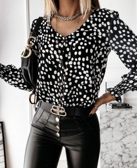 Γυναικεία μπλούζα με πριντ  430302