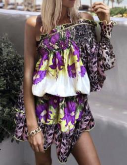 Γυναικείο φόρεμα με ένα μανίκι 5089