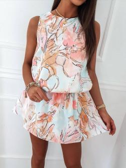 Γυναικείο φόρεμα με print 833107