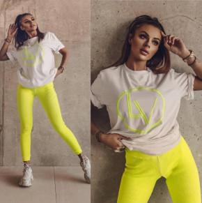 Γυναικείο μπλουζοφόρεμα 77722 κίτρινο
