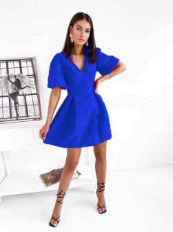 Γυναικείο κλος φόρεμα  7127 μπλε