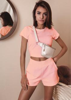 Γυναικείο σετ 8025 ροζ