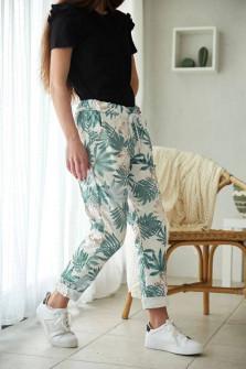 Γυναικείο παντελόνι φόρμας 8115 πράσινο