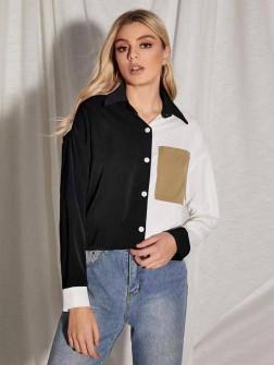 Γυναικείο πουκάμισο 5495 μαύρο