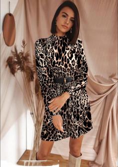 Γυναικείο φόρεμα με ζώνη 533005