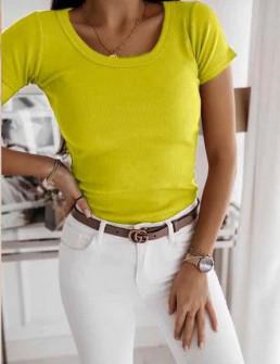 Γυναικείο μπλουζάκι 1931 κίτρινο