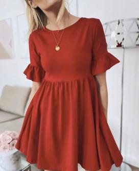 Γυναικείο φόρεμα 1974 κόκκινο