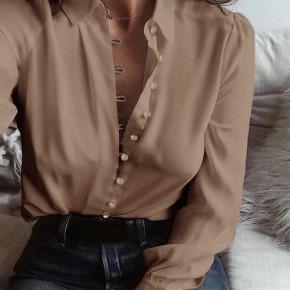 Γυναικείο πουκάμισο 3798 μπεζ